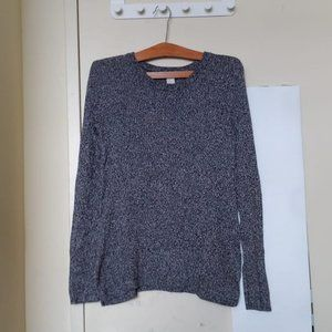 H&M Marbled Grey Knit Sweater